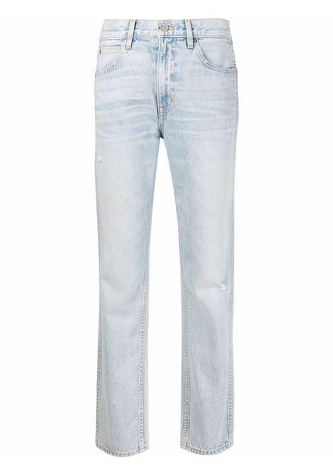 Slvrlake whiskering effect jeans women love song SLVRLAKE | Jeans | VIRJ707SLVSNG