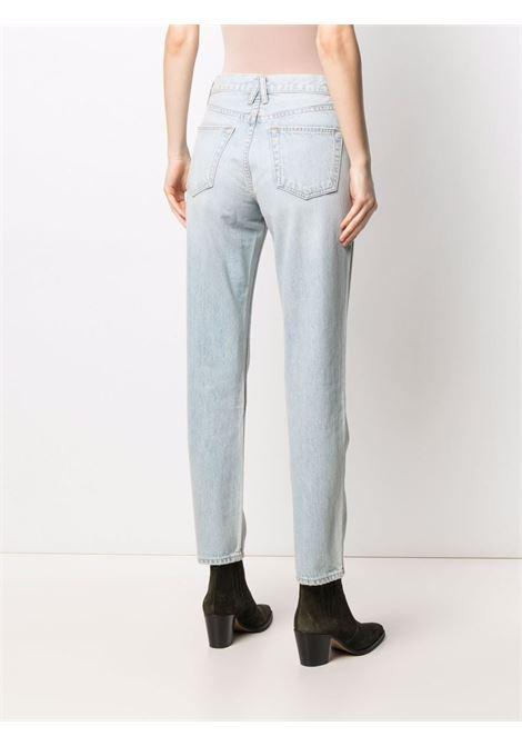Slvrlake whiskering effect jeans women love song SLVRLAKE | VIRJ707SLVSNG