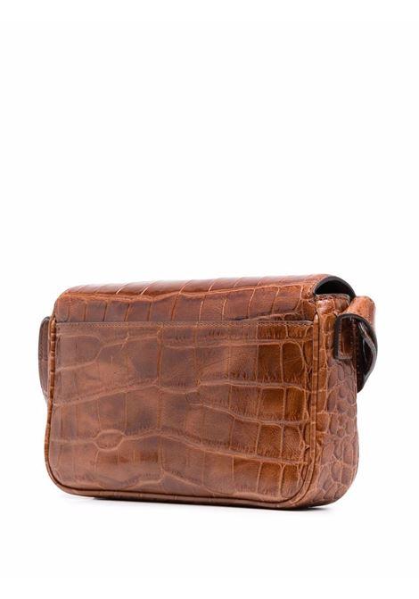 Staud tommy bag women saddle faux croc STAUD | 129408SDLC