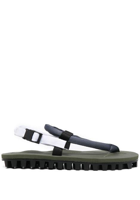 Suicoke x Vibram slingback sandals unisex navy olive SUICOKE | OG246129