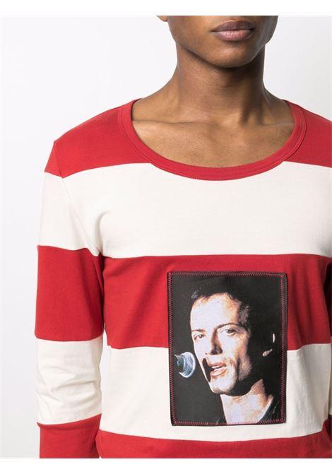 Sunnei photograph-print t-shirtmen cream red SUNNEI | SN1SMH06APJE072064