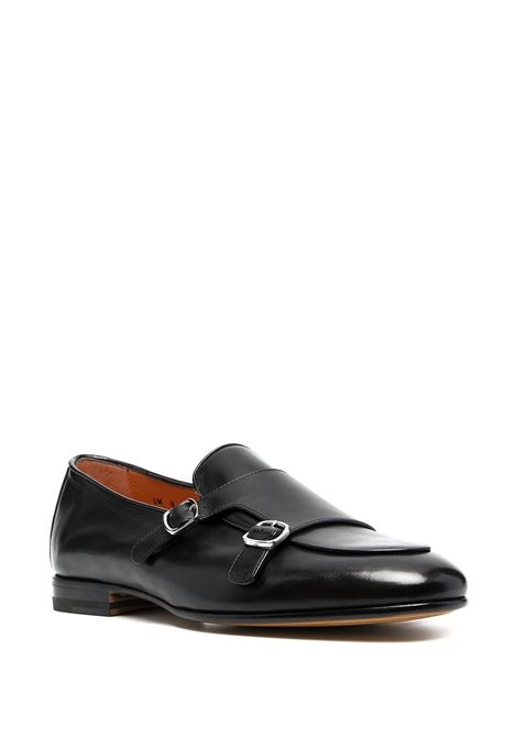 Buckled loafers SANTONI | MCNC16055LA3EMCGN01