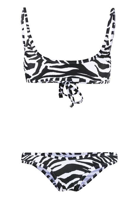 The attico bikini con stampa tigrata donna zebra THE ATTICO | Costumi | 215WBB06PA14020