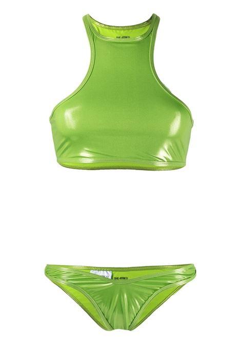 The attico bikini con retro incrociato donna pear green THE ATTICO | Costumi | 215WBB10E038210