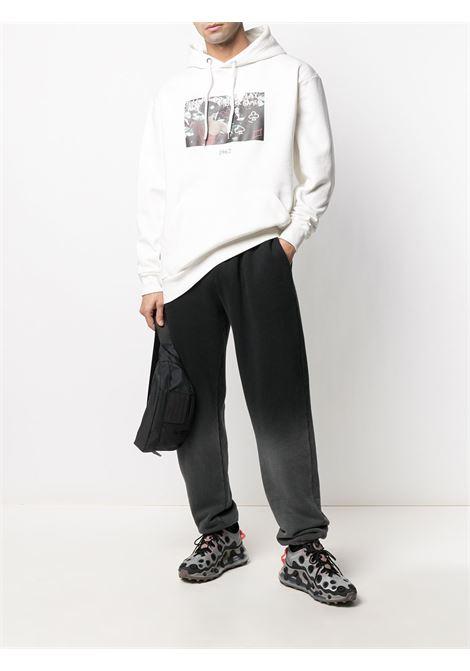Pocker sweatshirt THROWBACK | TBS007POKERWHT