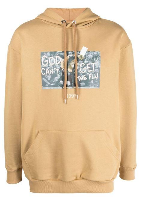 Throwback graphic-print sweatshirt  men sand THROWBACK | Sweatshirts | TBS45S1SND