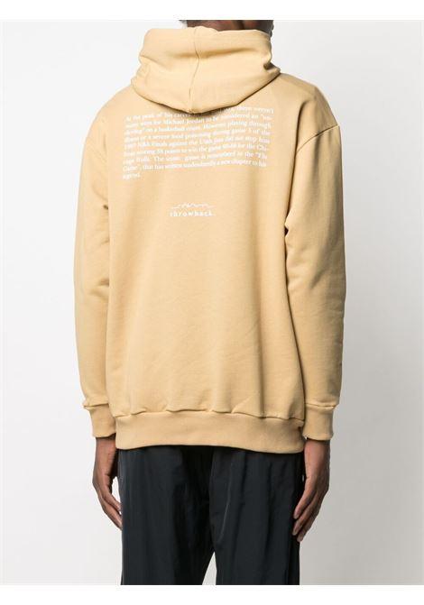 Throwback graphic-print sweatshirt  men sand THROWBACK | TBS45S1SND