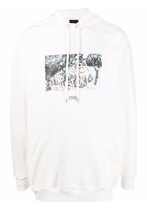 Throwback graphic-print sweatshirt  men white THROWBACK | Sweatshirts | TBS45S3WHT