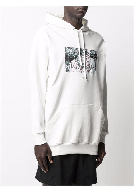 Throwback graphic-print sweatshirt  men white THROWBACK | TBS45S3WHT