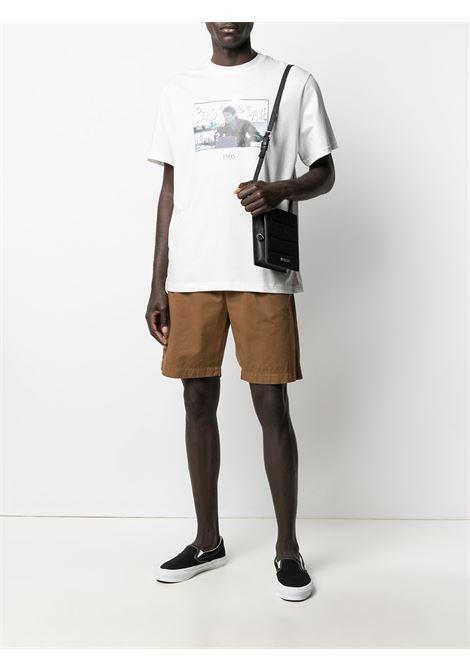 Graphic-print t-shirt THROWBACK | TBT007WORLDWHT