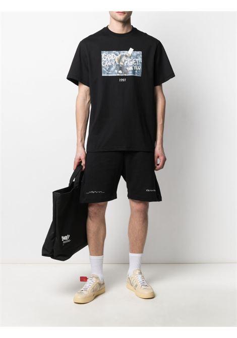 Photograph-print T-shirt THROWBACK   TBT45S1BLK