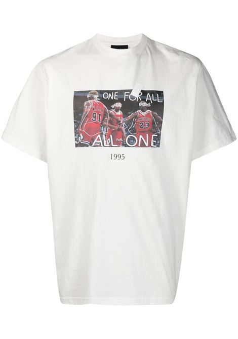 One For All basketball T-shirt THROWBACK | T-shirt | TBT45S2WHT