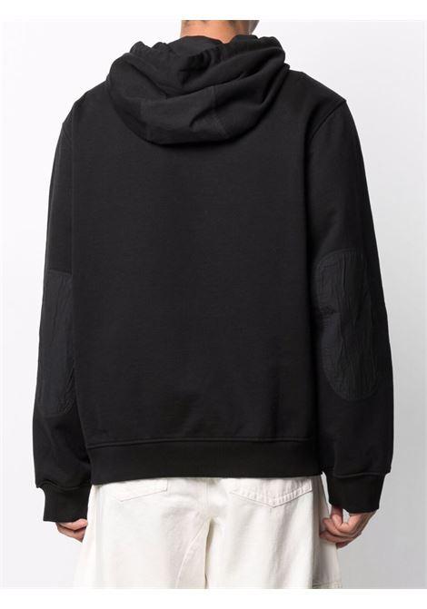 Tom wood logo sweatshirt men pitch black TOM WOOD | 21253999
