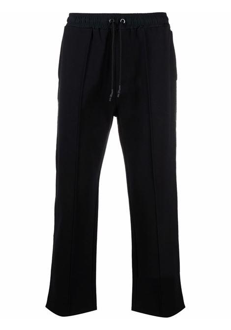 Tom wood pantaloni a gamba dritta uomo pitch black TOM WOOD | Pantaloni | 21255999