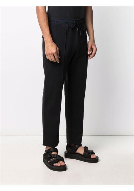Tom wood straight-leg trousers men pitch black TOM WOOD | 21255999