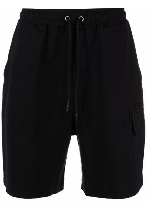 Tom wood pantaloncini cargo uomo pitch black TOM WOOD | Bermuda | 21256999