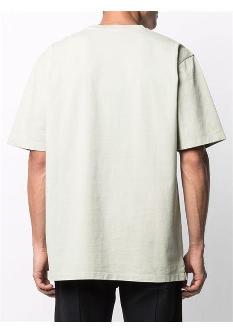 Tom wood logo t-shirt men dusty mint TOM WOOD | 21260776