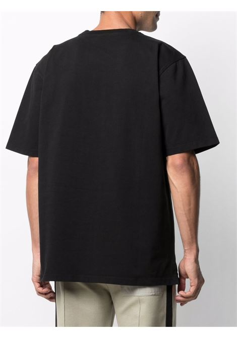 Tom wood logo t-shirt men pitch black TOM WOOD | 21260999