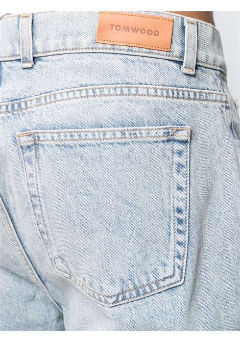Tom wood straight-leg jeans men beach worn TOM WOOD | 40607059
