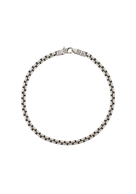 Tom Wood bracciale a catena uomo silver TOM WOOD | Bracciali | B51232BSM01S925