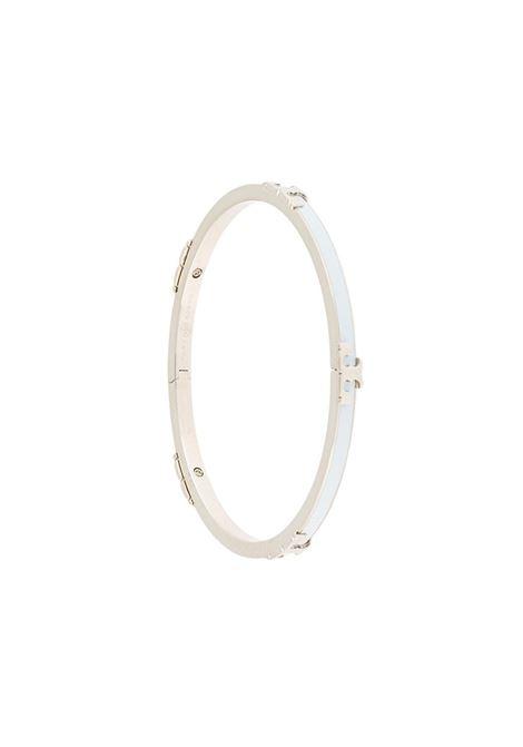 Tory burch serif-t bracelet tory silver crisp blue TORY BURCH | Bracelets | 64928400