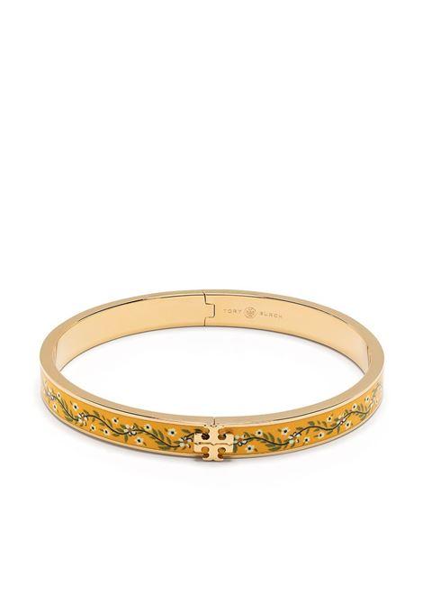Tory Burch bracciale kira donna gold yellow TORY BURCH | Bracciali | 75977701
