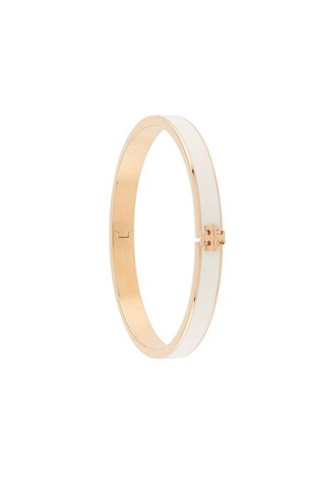 Tory Burch bracciale kira donna gold new ivory TORY BURCH | Bracciali | 78418110