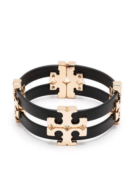 Tory burch bracciale serif-t donna tory gold black TORY BURCH | Bracciali | 79927720
