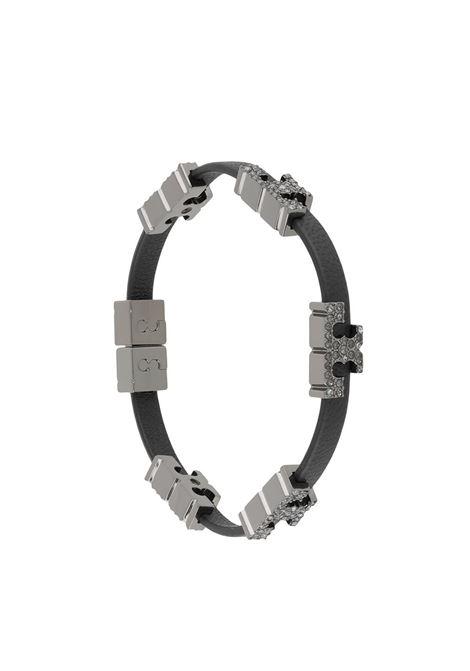 Tory Burch bracciale con decorazione donna hematite black crystal TORY BURCH | Bracciali | 80702002