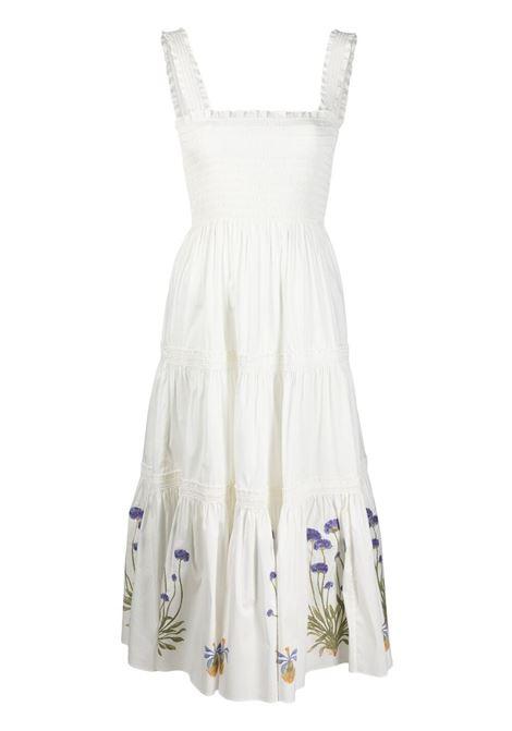 Tory burch floral-motif dress women new ivory TORY BURCH | Dresses | 82090104