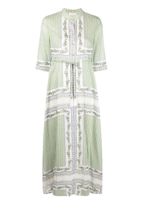 Garden print long shirt dress TORY BURCH | Dresses | 83310250