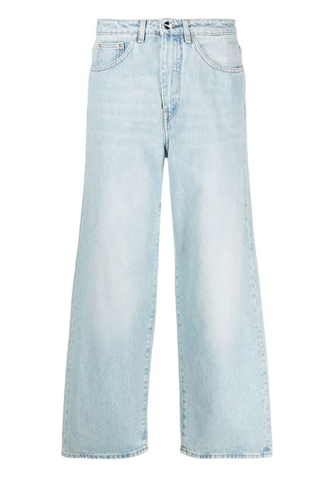 Toteme jeans svasati a vita media donna light blue TOTEME | Jeans | 211230742425
