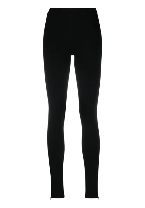 Toteme leggings slim donna black TOTEME | Leggings | 211238774200