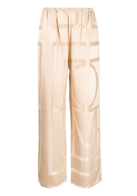 Toteme trousers cafe au lait women TOTEME | Trousers | 212255724803