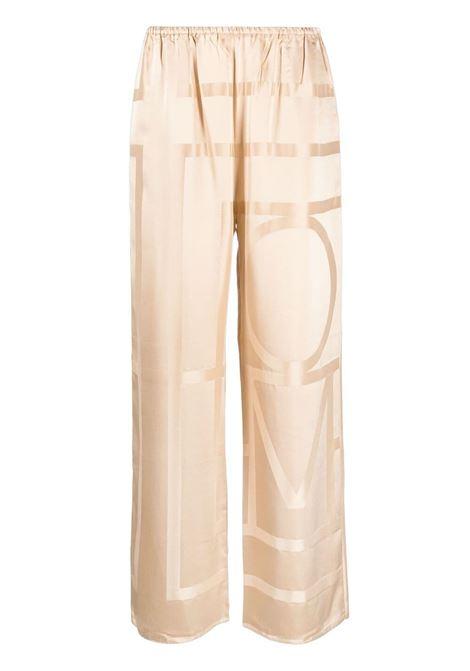 Toteme pantalone cafe au lait donna TOTEME | Pantaloni | 212255724803