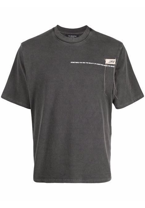 Val.kristopher logo t-shirt men washed black VAL.KRISTOPHER | T-shirt | VKSS210003WASBLK
