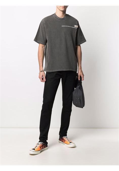 T-shirt con stampa Uomo VAL.KRISTOPHER | VKSS210003WASBLK