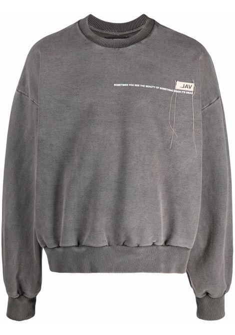 Val.kristopher logo sweatshirt men washed black VAL.KRISTOPHER | Sweatshirts | VKSS210020WASBLK