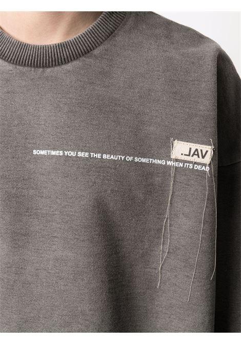 Val.kristopher logo sweatshirt men washed black VAL.KRISTOPHER | VKSS210020WASBLK