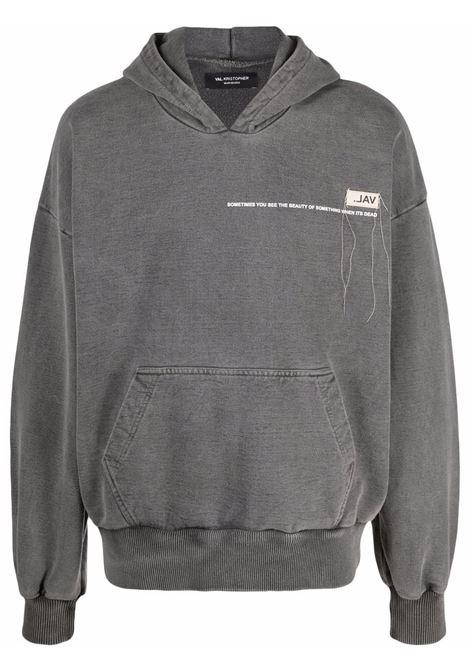 Val.kristopher logo sweatshirt men washed black VAL.KRISTOPHER | Sweatshirts | VKSS210029WASBLK