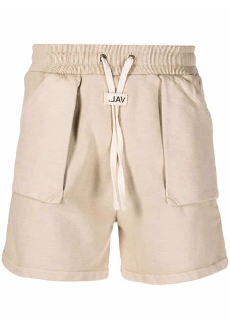 Val.kristopher track shorts men washed oatmeal VAL.KRISTOPHER | Bermuda Shorts | VKSS210042WASOAT
