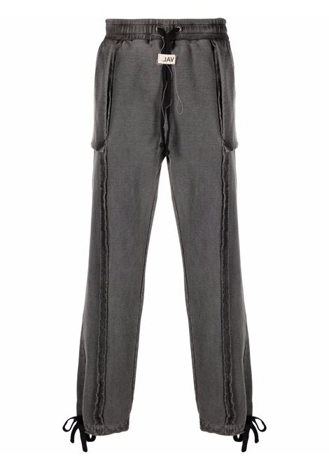 Val.kristopher track trousers men washed black VAL.KRISTOPHER | Trousers | VKSS210104WASBLK