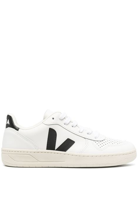 Veja sneakers v-10 donna white black VEJA | Sneakers | VX020005AWHTBLK