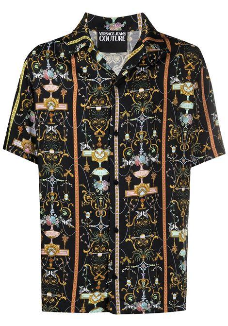 Camicia con stampa Uomo VERSACE JEANS COUTURE | Camicie | B1GWA6B0S0988899