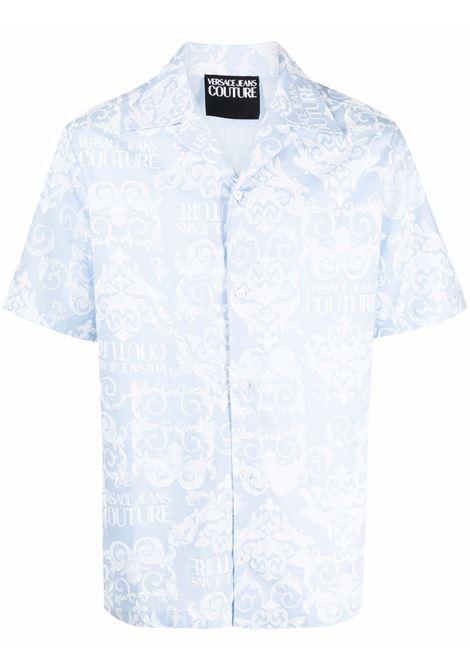 Camicia con stampa Uomo VERSACE JEANS COUTURE | Camicie | B1GWA6B2SR085216