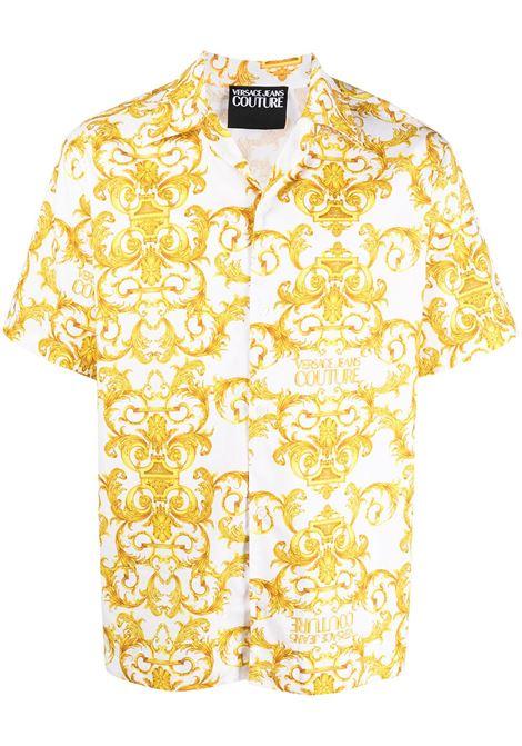 Camicia con stampa barocca Uomo VERSACE JEANS COUTURE | Camicie | B1GWA6B4S0152003