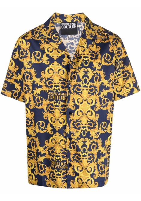Camicia con stampa Uomo VERSACE JEANS COUTURE | Camicie | B1GWA6B4S0152200