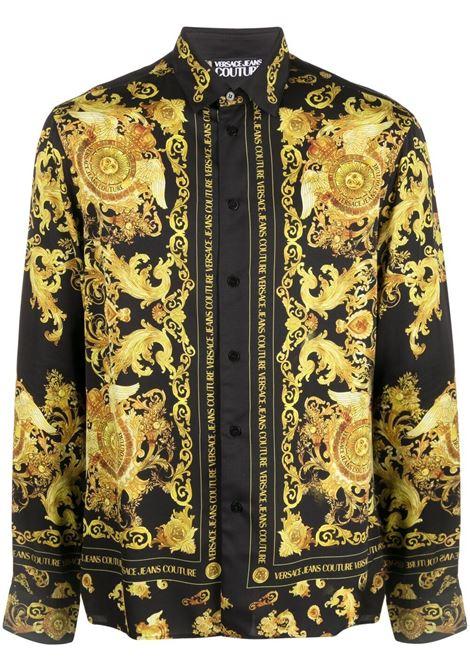 Camicia Barocco con stampa Uomo VERSACE JEANS COUTURE | Camicie | B1GWA6R3S0273899