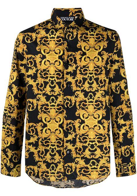 Camicia Barocco Uomo VERSACE JEANS COUTURE | Camicie | B1GWA6S0S0152899