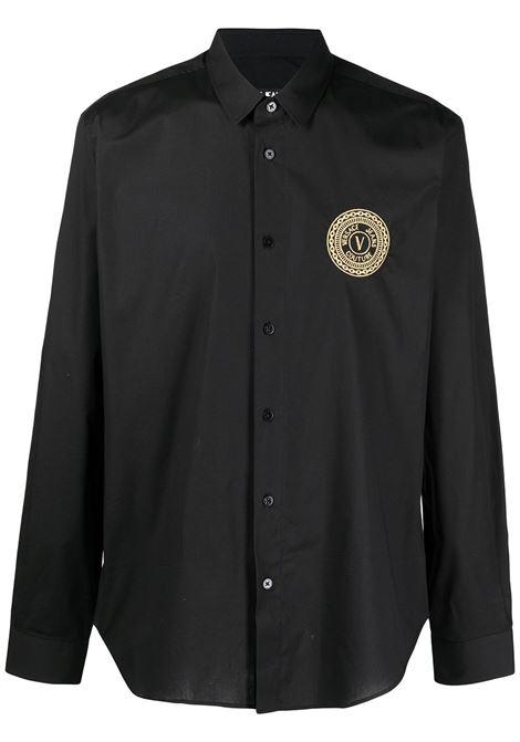 Camicia con logo Uomo VERSACE JEANS COUTURE | Camicie | B1GWA6S430421899